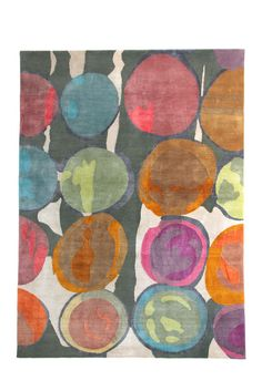 Butterscotch was inspired by hand-painted scarves of Brooklyn textile artist Susan Steinbrock.