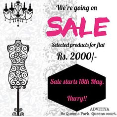 At @advitiya_kolkata the summer sale is at its best ... @eshasethithirani choose among the selected garments and get the best deal in town #fashion #fashionfestival #fashionsale #sale #calcutta