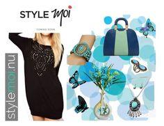 Little Black Dress with StyleMoi by gabriele-bernhard on Polyvore featuring Avalisa, Franz Collection, LittleBlackDress, isPage, creativefashionworld and stylemoi