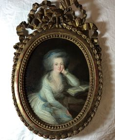 Madame Elisabeth de France par Charles Leclercq, lot 107 vente Azur Encheres, Cannes le 19 mai 2017