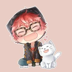 Mystic Messenger - 707 and Elizabeth the 3rd
