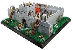 Lego Hadrian's Wall