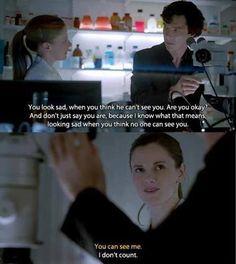 Sherlock. *gross sobbing*