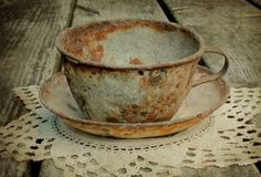 deb christensen - dye~ing to be yours: texture tuesday~ a cuppa joe Wabi Sabi, Rust Never Sleeps, Cuppa Joe, Rust In Peace, Shabby, Peeling Paint, Garden Studio, Rusty Metal, Rustic Charm