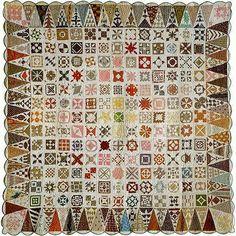 Magnificent Dear Jane quilt.