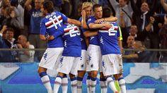 Celebration (UC Sampdoria)
