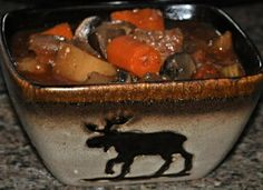 Slow Cooker Venison Stew...its what's for dinner tonight, minus the beer