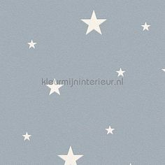 Glow in the dark sterren behang 324403 uit de collectie Day and Night van AS Creation is verkrijgbaar bij kleurmijninterieur