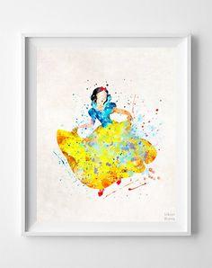 Snow White, Snow White Type 2 Print