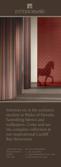 Hermes @ Interiors Etc showroom - Cardiff Bay