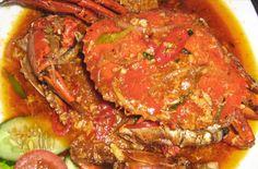 Kepiting saus padang (Padangnese crab sauce, Kuliner Indonesia #must try
