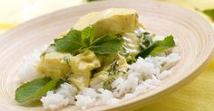 A very simple and tasty mild Thai curry - great for entertaining...