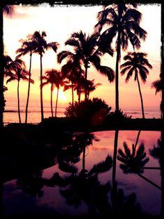 Another beautiful sunset in Kapalua, Maui