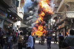 Guerra en Siria: La oposición siria se compromete a una tregua de dos se...