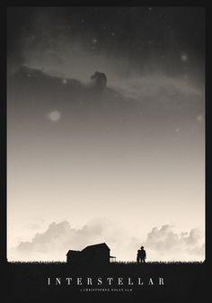Interstellar - movie poster - Mark Kristensen