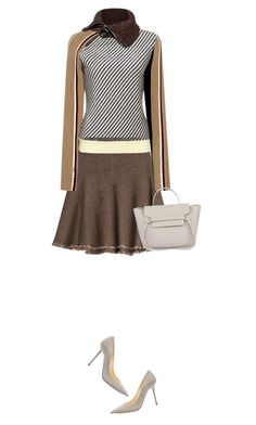 """""""cement"""" by paperdollsq ❤ liked on Polyvore featuring Etro, Carven and Jimmy Choo"""