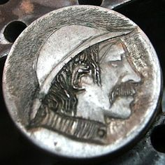 ARCHIE TAYLOR HOBO NICKEL - NO DATE BUFFALO NICKEL Hobo Nickel, Archie, Buffalo, Coins, Art, Art Background, Rooms, Kunst, Performing Arts