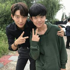Lee Joon Gi and friend