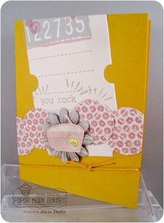 Paper Made Bakery: You Rock Card, No Really, YOU ROCK!