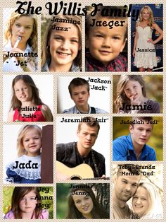 The Willis clan... Photos from blog!!