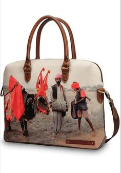 160ca07fc4 Bullman print laptop bag by NAPPA DORI Accessorize Bags