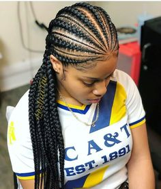 New 2019 Beautiful Braiding Hairstyles : Choose Your Most Inspiring Braid Styles. New 2019 Beautiful Braiding Hairstyles : Choose Your Most Inspirin Box Braids Hairstyles, African Hairstyles, Black Women Hairstyles, Protective Hairstyles, Hairstyles Videos, Hairstyles 2016, Teenage Hairstyles, Cornrolls Hairstyles Braids, Pretty Hairstyles