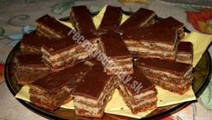 Useful articles and recipes: Majestic walnut zerbó - so delicious that I just bake it that way! Just Bake, Paella, Sweet Recipes, Muffin, Sweets, Candy, Cookies, Chocolate, Baking