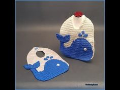 Save those cute outfits and protect the front of your baby's clothing with The Blue Whale Baby Bib! This cotton bib uses a graphing technique to create this fun aquatic themed infant accessory! This would be cute in any combination of pastel colors! Makes a great gift for boys and girls!! Whether you create this…