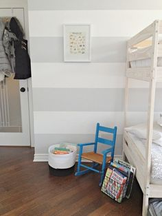 Three Kids Share One Masterfully Organized Montreal Bedroom — My Room | Apartment Therapy