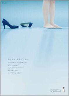 Japan Graphic Design, Japanese Poster Design, Japan Design, Typo Design, Ad Design, Flyer Design, Copy Ads, Editorial Design Magazine, Shoe Poster