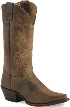 Doubel H Distressed Classic Cowgirl Boot - Sheplers