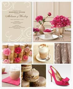 French flourishes are perfect for a spring soirée!