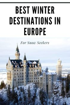 Where are the best snowy winter destinations in Europe? Here you'll find ski resorts, ice hotels, reindeers, dog sledding & Christmas markets European Vacation, European Destination, European Travel, Best Winter Destinations, Travel Destinations, Europe Travel Guide, Winter Travel, Travel Photography, Night Photography