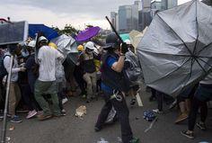Situation tendue à Hongkong après une nuit d'affrontements entre manifestants et police AFP/DALE de la REY