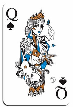 playing card illustration