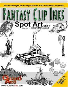 The Gassy Gnoll: Stock Art Madness Stock Art, Ink Art, Fantasy, Madness, Illustration, Image, Games, Gaming, Illustrations