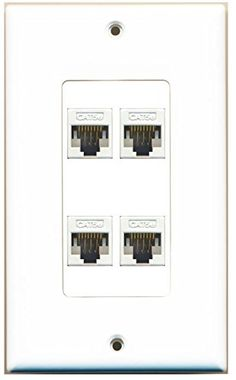 Marvelous 21 Best Custom Ethernet Wall Plates By Riteav Images Plates On Geral Blikvitt Wiring Digital Resources Geralblikvittorg