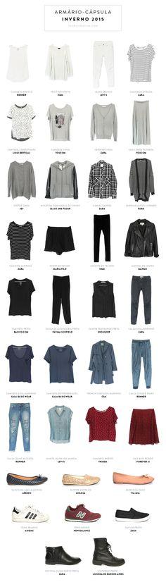 Armário-cápsula Gabi Barbosa: 13 blusas, 7 casacos, 9 partes de baixo, 8 sapatos