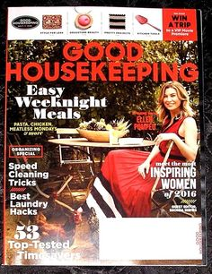 Good Housekeeping Magazine  September 2016