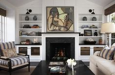 Musical Notes - transitional - living room - los angeles - by Blue Tangerine Art