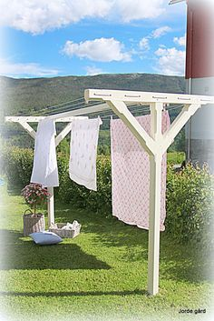 Joda, for klesvask kan også bli idyll.. Se for deg at været er fint, en liten bris i luften, s...