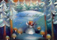 Raija Nokkala Martini, Cute Pictures, Xmas, Photo And Video, Postcards, Google, Painting, Board, Christmas