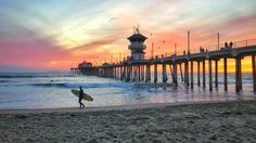 Huntington Beach California by @HBSurfCityUSA by CaliforniaFeelings.com california cali LA CA SF SanDiego