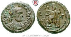 RITTER Ägypten, Alexandria, Philippus I., Serapis, Kerberos #coins
