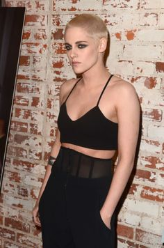 Now #12! | Literally Just 26 Pictures Of Kristen Stewart And Her Newly Shaved Head That You Can Stare At All Day