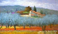 Impressionist Oil Paintings | ... Oil Painting - 1 - China impressionist canvas oil painting, looking