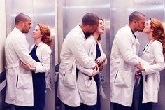 Japril - Greys Anatomy - April Kepner - Jackson Avery - Sarah Drew - Jesse Williams