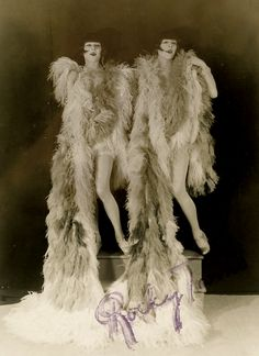 The Rocky Twins impersonating the Dolly Sisters.