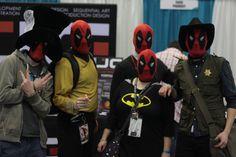 DeadSquad Vancouver, Deadpool, Fan, Superhero, Fictional Characters, Fantasy Characters, Fans, Computer Fan