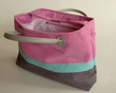 Smart Ies Bag In Pink Turquoise Grey And Love Of Course